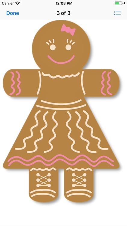 Gingerbread Stickers screenshot-4