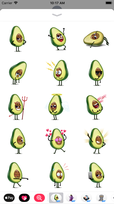 Avocad'oh by Moji screenshot 3