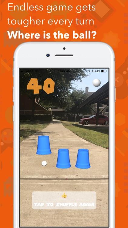 Shuffle Cups AR screenshot-4