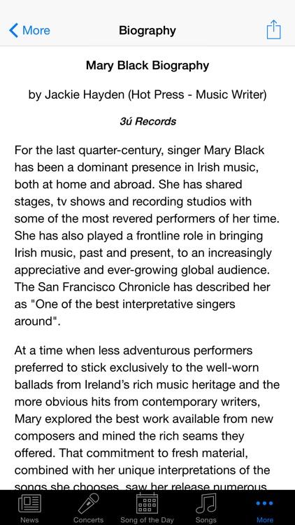 Mary Black screenshot-3