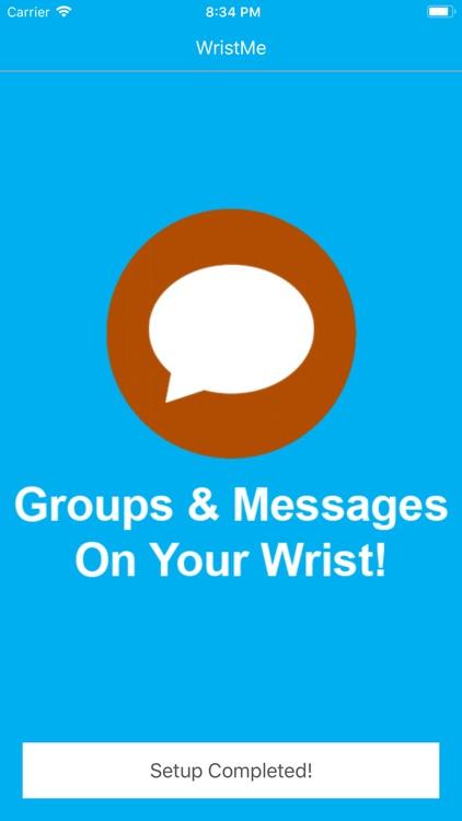 Wrist for GroupMe