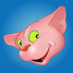 Pink Cat emoji