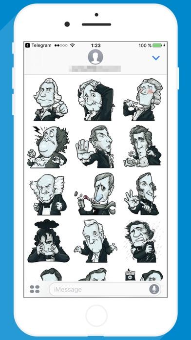 USA Presidents STiK Stickers screenshot 1