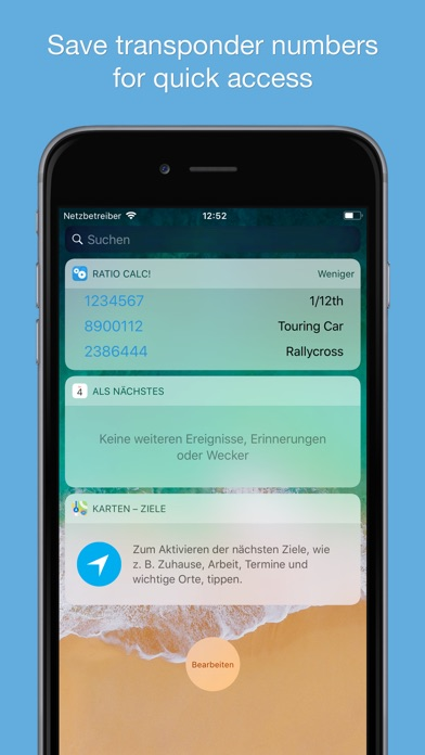 Screenshot for Ratio Calc! in Switzerland App Store