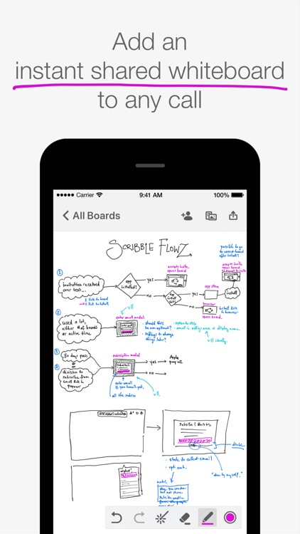 Scribble Online Whiteboard