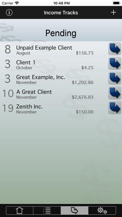 Income Tracks screenshot-3