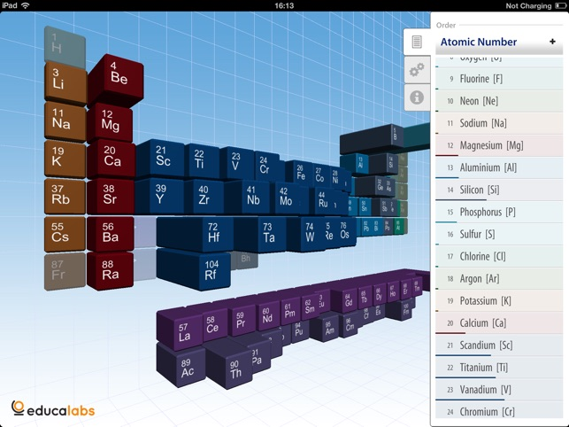 Periodic table educalabs on the app store ipad screenshots urtaz Image collections