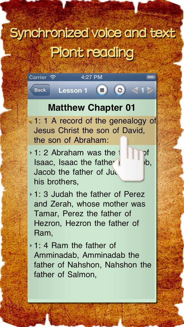 圣经英文朗读 - 微读书耶稣基督教电台 Screenshot