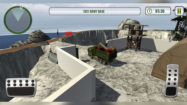 Army Truck Driving Simulator screenshot-3