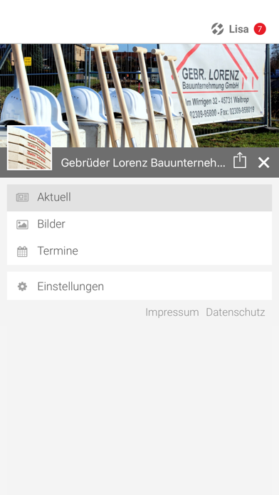 Gebr. Lorenz Bauunternehmung screenshot two