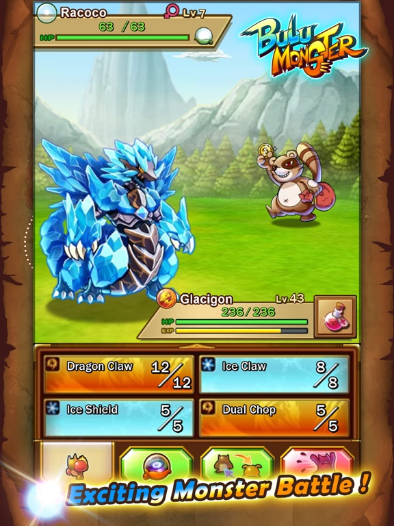 iPad - Bulu Monster- A Monster Capture Game! - TouchArcade ...