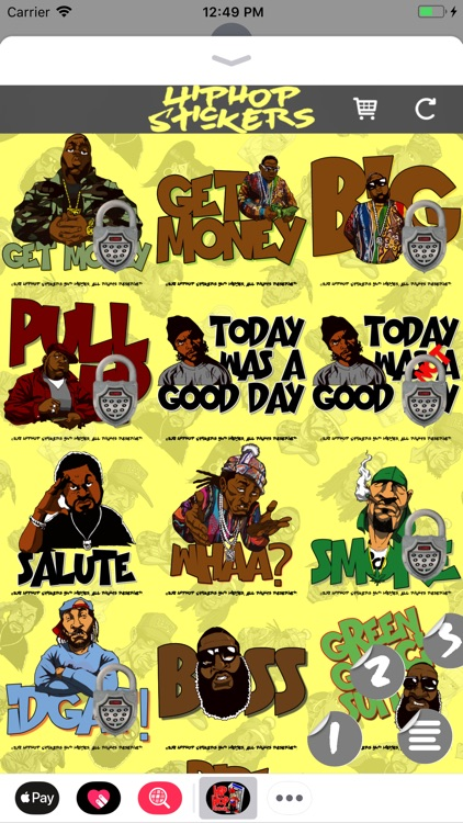 Hiphop Stickers and Memes