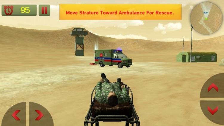 US Army Ambulance Rescue Game screenshot-3