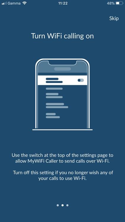 MyWiFi Caller screenshot-4