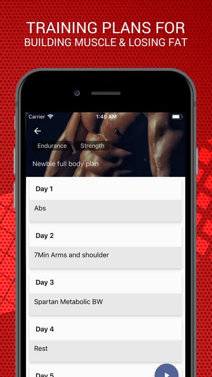 MMA Spartan Workouts Pro screenshot-2