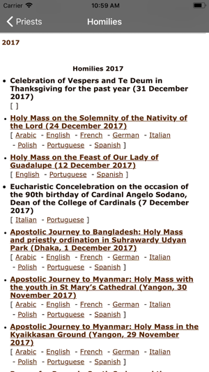 Catholic Homilies on the App Store