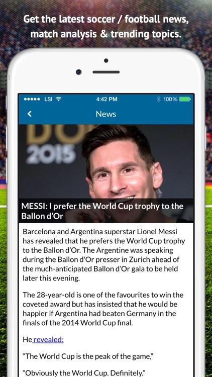Live Soccer TV: Scores & Stats screenshot-4