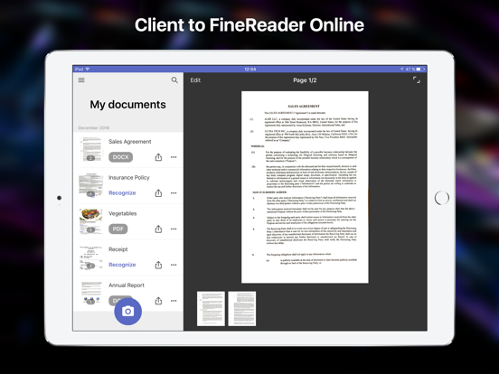 ABBYY FineReader client | App Price Drops