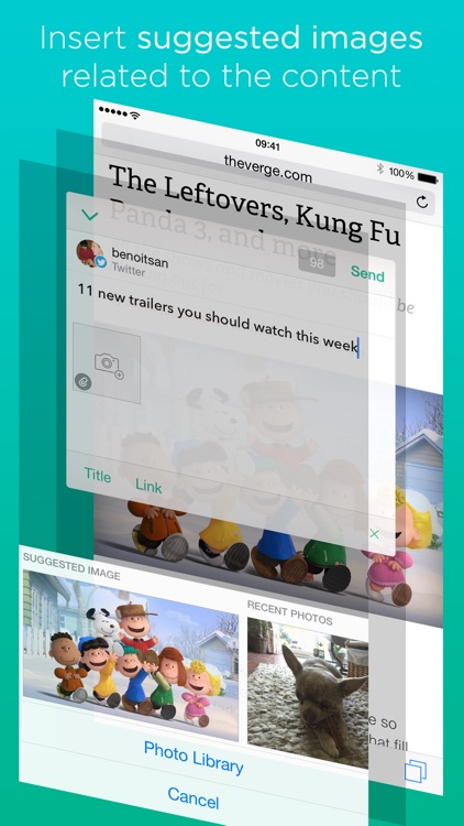 Linky for Twitter and Facebook