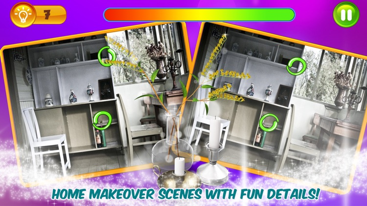Find Differences Home Makeover
