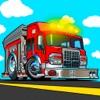 Fire truck driver racing sim