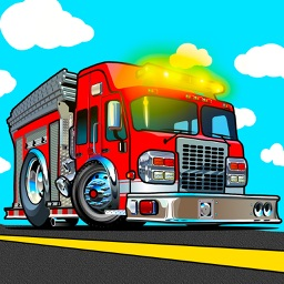Fire truck driver racing sim