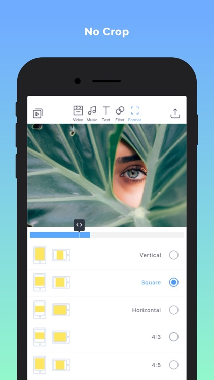 Filmr- fullscreen video editor screenshot-5