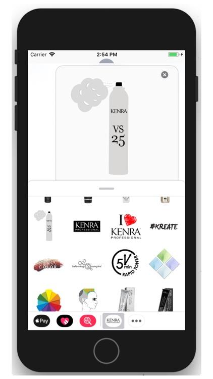 Kenra Professional Stickers screenshot-3