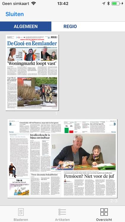 De Gooi- en Eemlander - krant screenshot-3