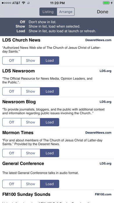 Lds News review screenshots