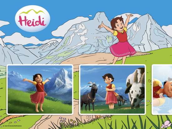 Puzzel Heidi screenshot 1