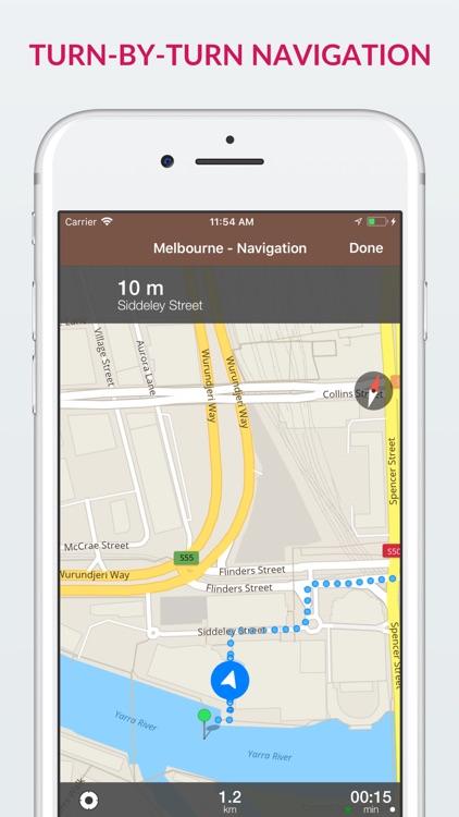 Melbourne Offline Map & Guide screenshot-3