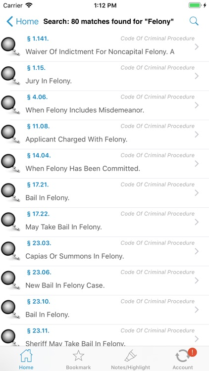 Ohio Revised Code, OH Laws ORC screenshot-7
