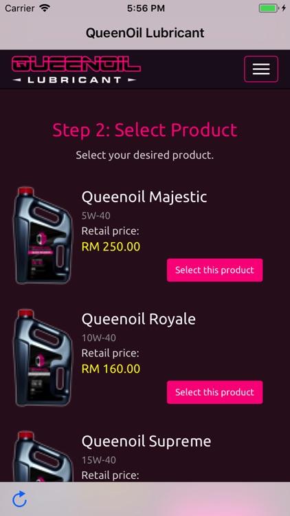 Queenoil Lubricant App screenshot-6
