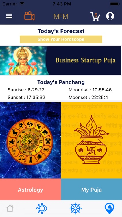 Vedic Astrology & Puja - MFM by SVK FUTURE MIRROR PRIVATE