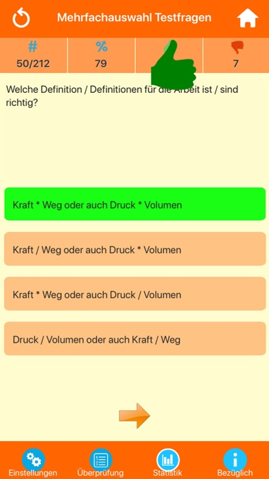 Die Physik Quiz screenshot 2