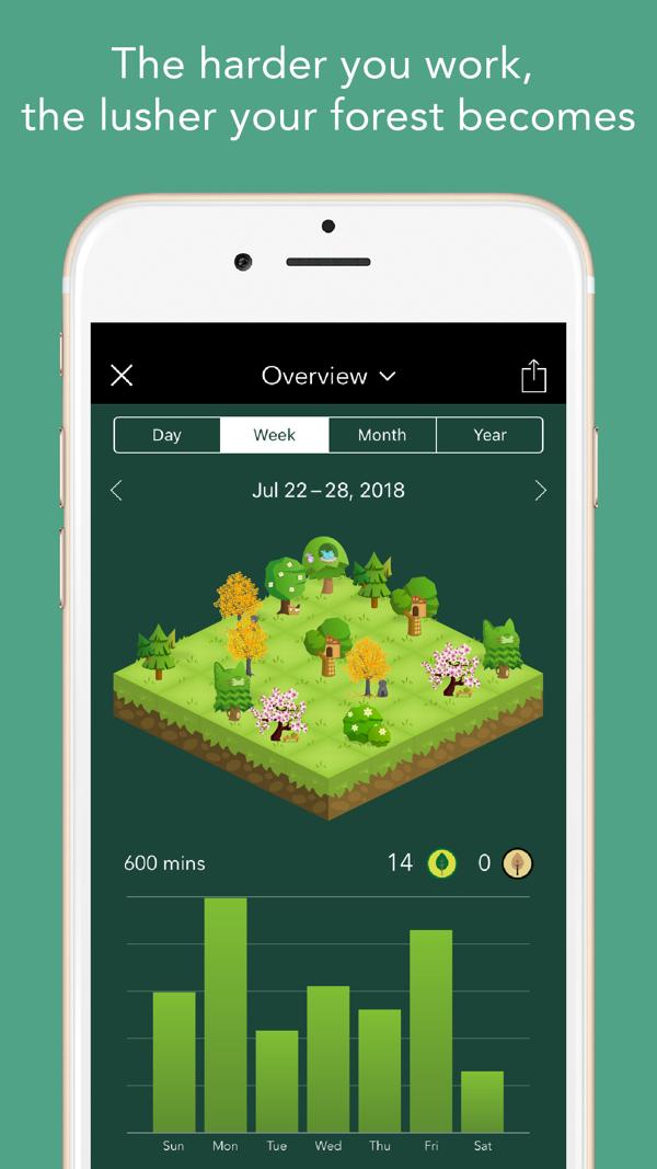 скачать приложение forest для ios