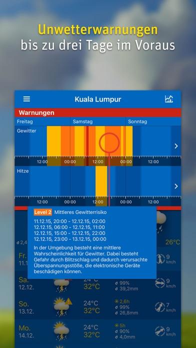 Screenshot for WeatherPro in Germany App Store