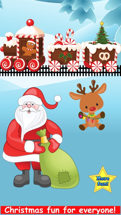 Christmas Train Reindeer Games