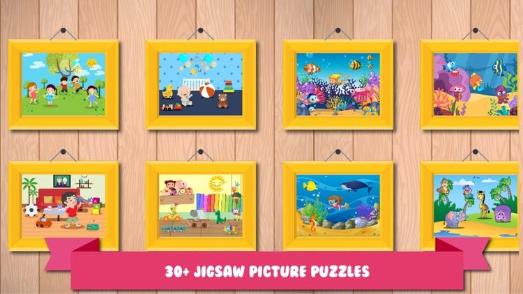 Jigsaw Picture Blocks for Kids screenshot-3
