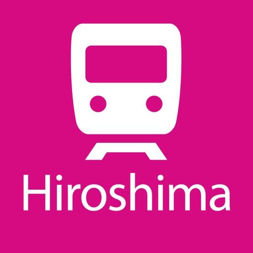 Hiroshima Rail Map