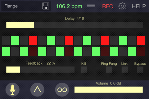 Tap Delay - náhled