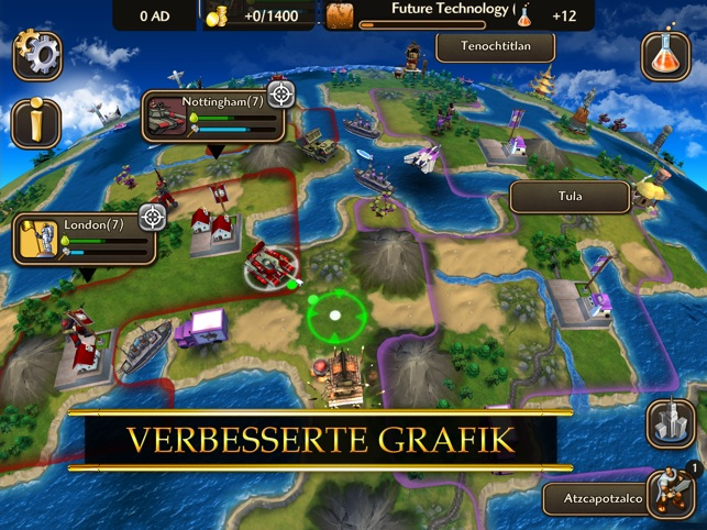 ‎Civilization Revolution 2 Screenshot