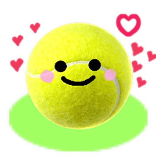 Tennis Ball TennisMoji Sticker