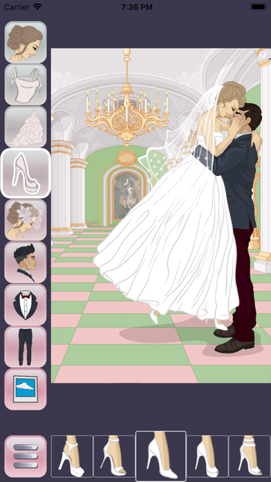 Wedding Dress Up Design screenshot four