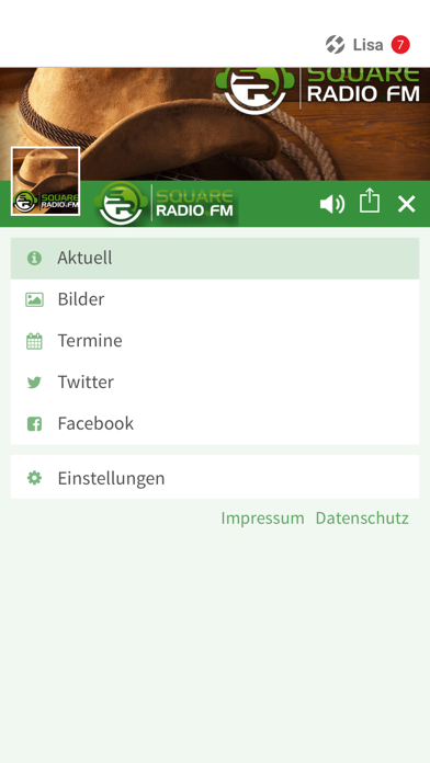 SquareRadio.FM screenshot 2