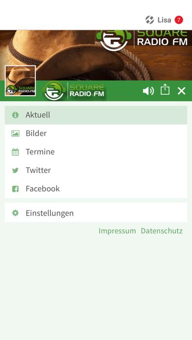 SquareRadio.FM screenshot 2