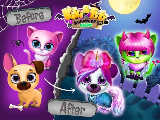 Kiki & Fifi Halloween Makeover screenshot 6