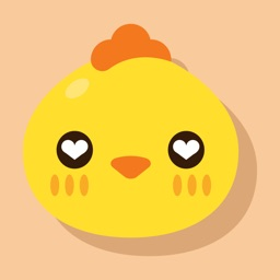 Funny Chick Stickers