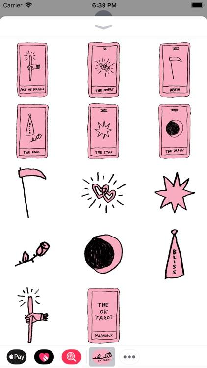 OK Tarot Stickers screenshot-3